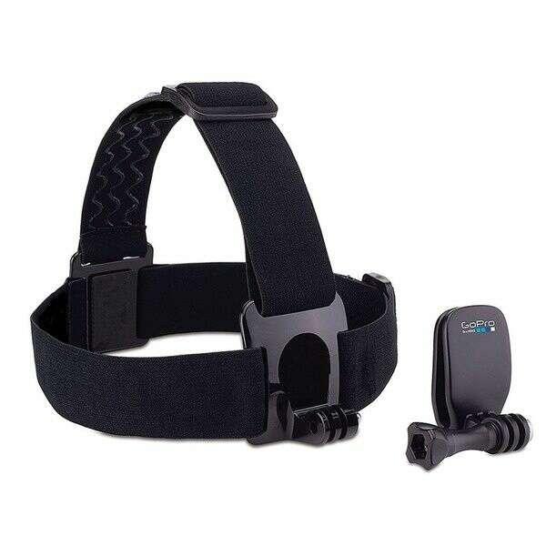 Крепление на голову+крепление-клипса на одежду для экшн камеры GoPro Headstrap + QuickClip (ACHOM-001)