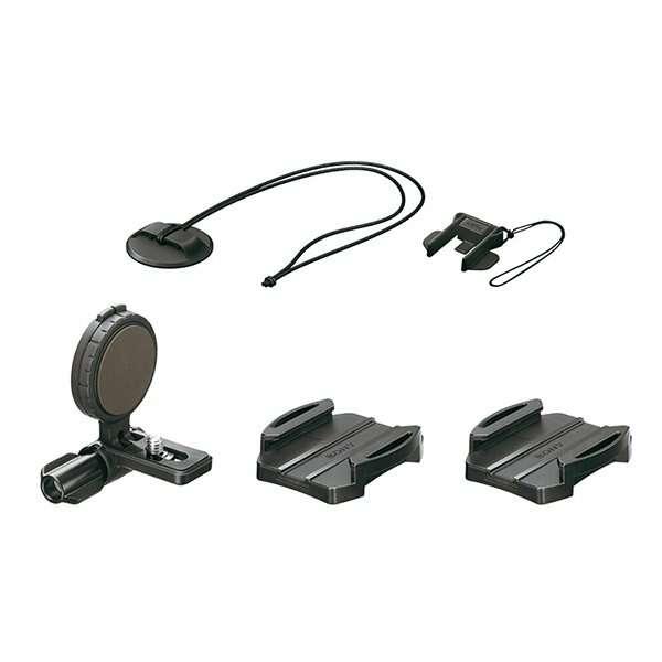 Площадка для бокового крепления камеры Action Cam на шлем Sony VCT-HSM1