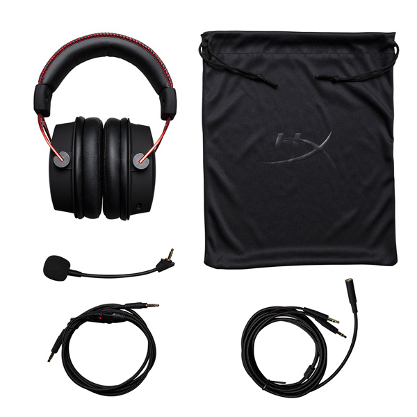 Наушники HyperX Cloud Alpha HX-HSCA-RD/EE Black/Red