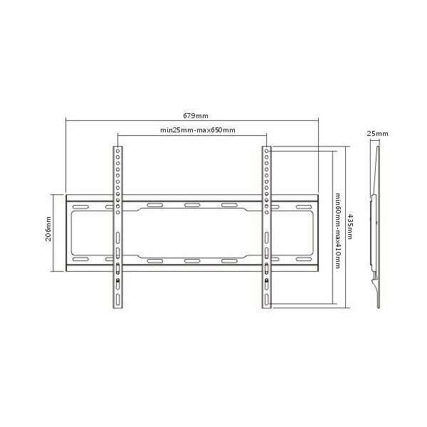 Кронштейн фиксированный Elenberg LP34-46F