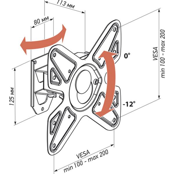 Кронштейн Vobix VX 4012