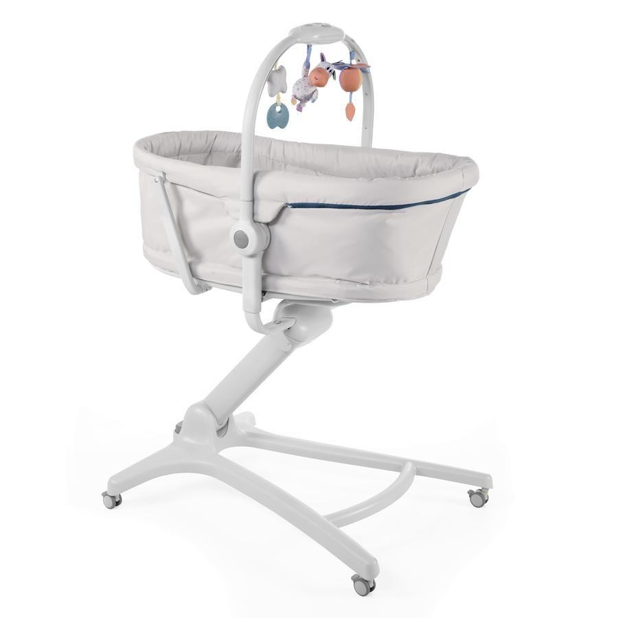 Кроватка-стульчик Chicco Baby Hug 4-в-1 Glacial