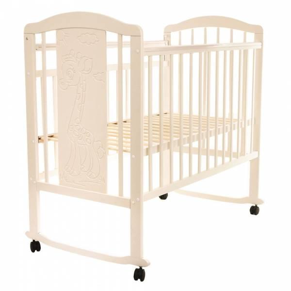 Кровать детская Pituso Noli Жирафик J-502 Слоновая кость