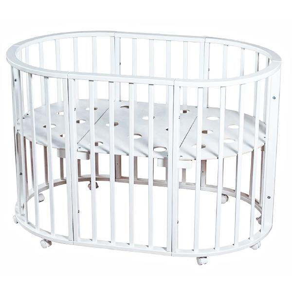 Кровать Мой малыш Николь ММ15-3 Белый