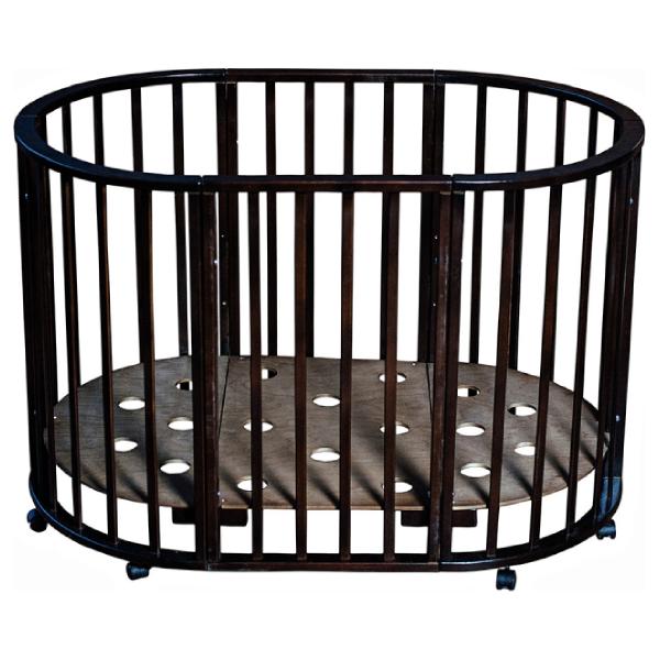 Кровать Мой малыш Николь ММ15-2 Темный
