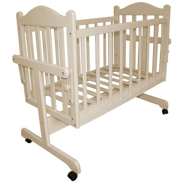 Кровать-колыбель Мой малыш ММ14-4 (Слоновая кость)