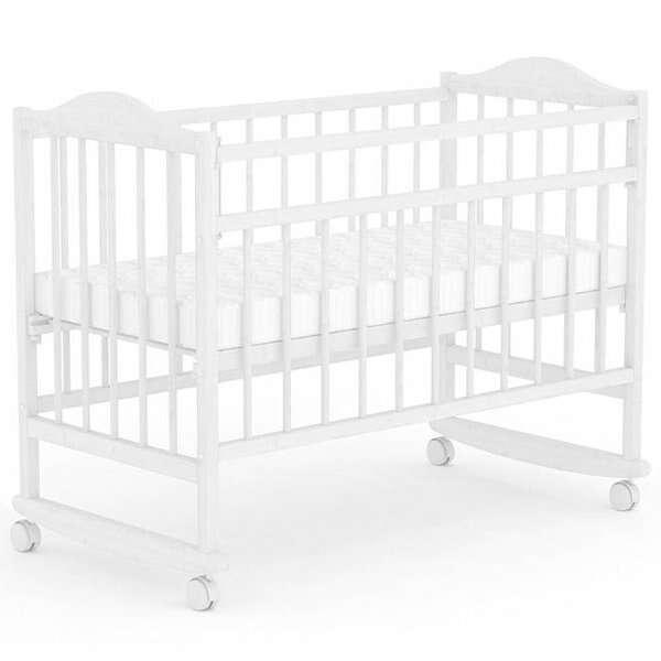 Кровать детская Фея 204 (Белый)