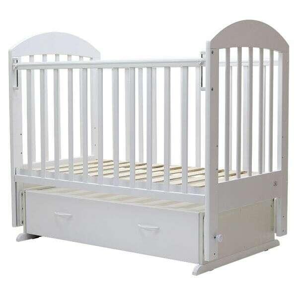 Кровать детская Топотушки Дарина-6 (Белый)
