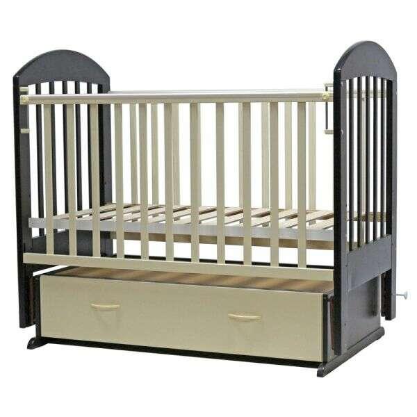 Кровать детская Топотушки Дарина-6 (Венге - Слоновая кость)