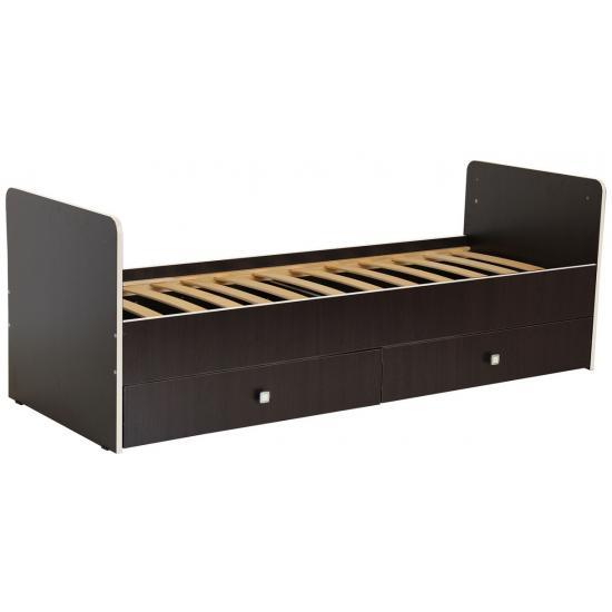 Кроватка-трансформер Фея 1100 (Бежевый - кромка Венге)