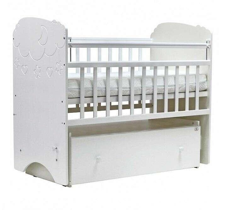 Кровать детская Топотушки Софья (Белый)
