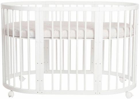 Кроватка - трансформер Incanto Mimi 7 в 1 (белый)