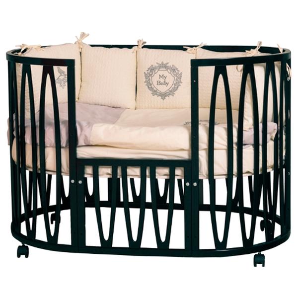 Кроватка детская Incanto Estel Acqua Венге с маятником