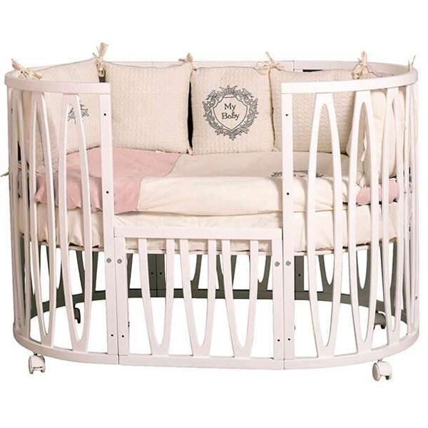 Кроватка детская Incanto Estel Acqua белый