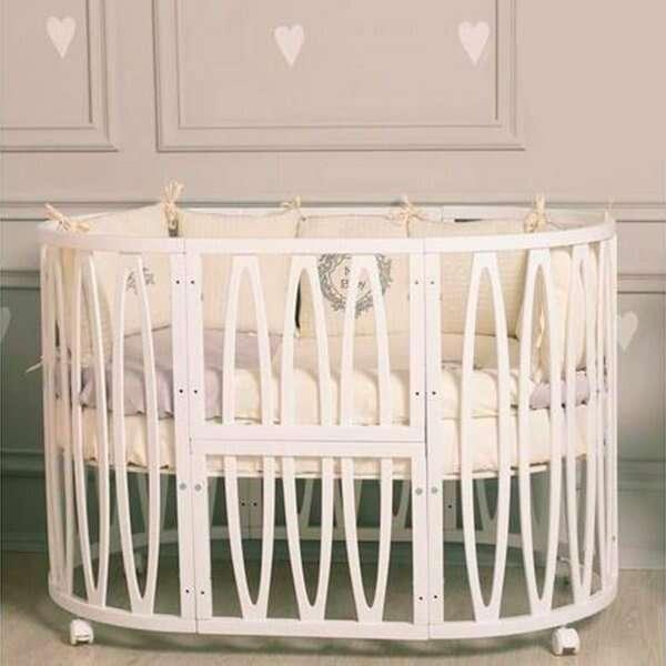 Кроватка детская INCANTO Estel ACQUA  цвет Слоновая кость