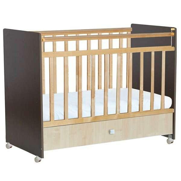Кровать детская Фея 700 венге-клён