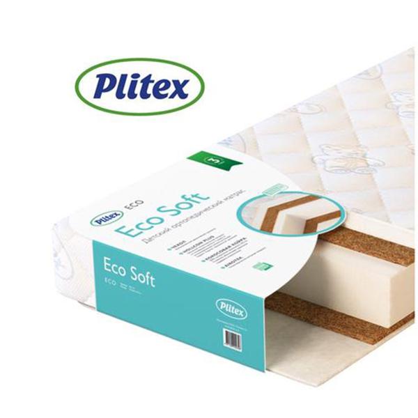 Детский матрас  Plitex Eco Soft ЭКС-01