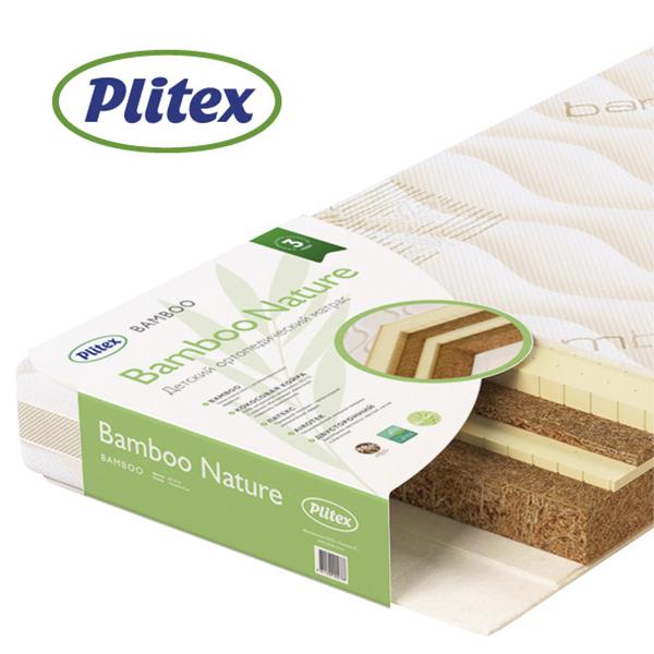 Детский матрас Plitex Bamboo Nature БН-119-01