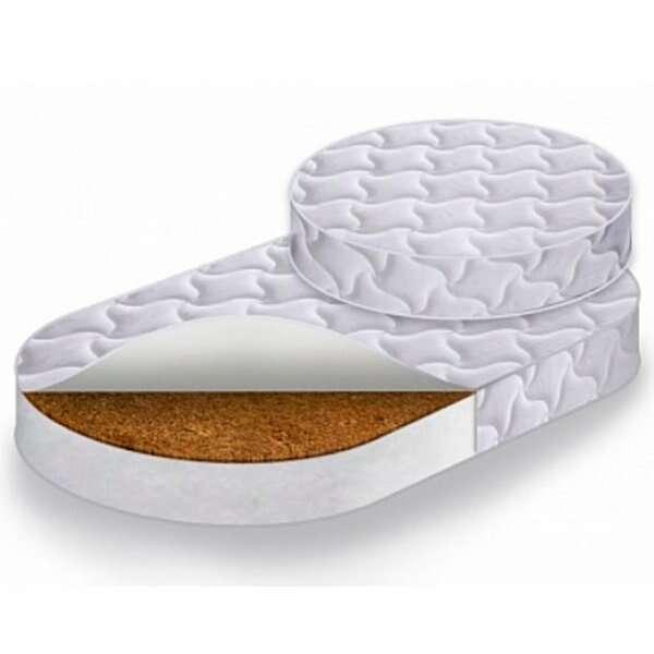 Комплект матрасов (Круг+Овал) в кровать-трансформер Caramelia RingFix