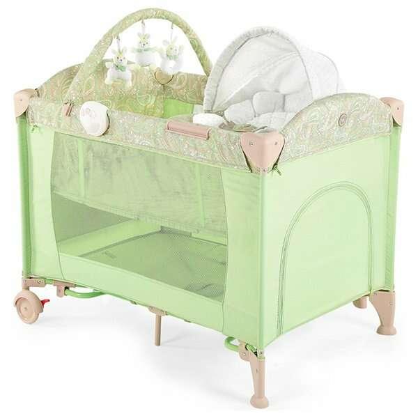 Кровать-манеж Happy baby Lagoon V2 green