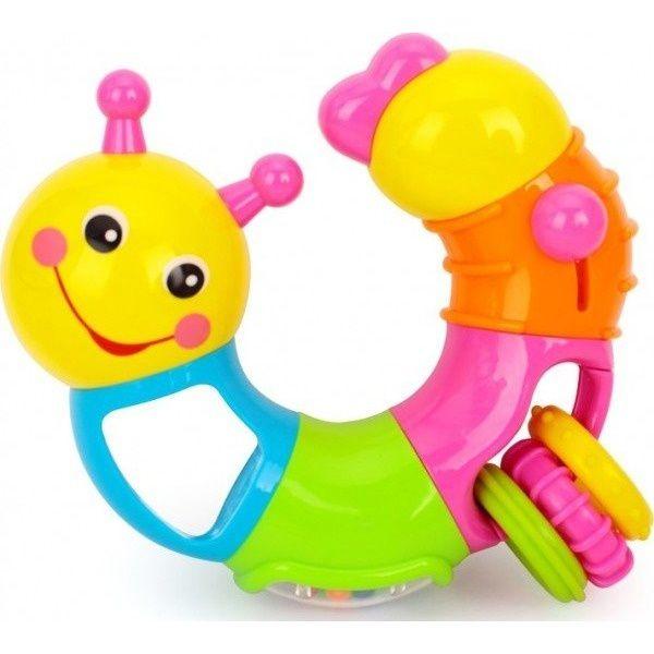 Игровая активная игрушка Huile Toys Музыкальная Гусеница