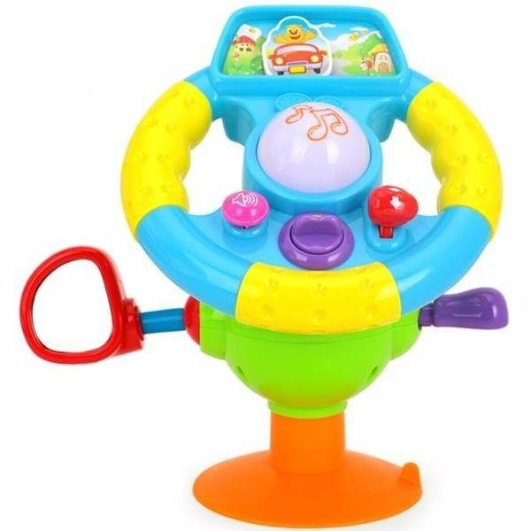 Игровая активная игрушка Huile Toys Музыкальный руль