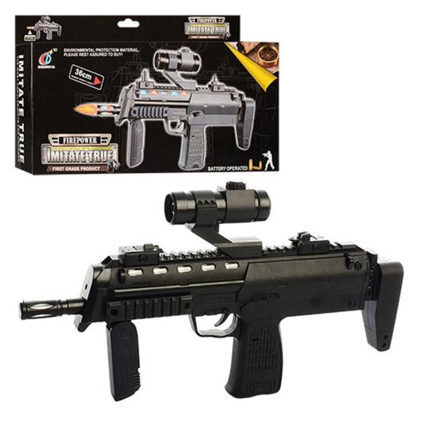 Игрушечное оружие FirePower Штурмовая винтовка со светом и звуком
