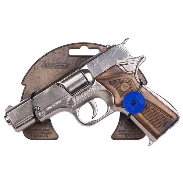 Игрушечное оружие Gonher Полицейский пистолет Astra - Old Silver