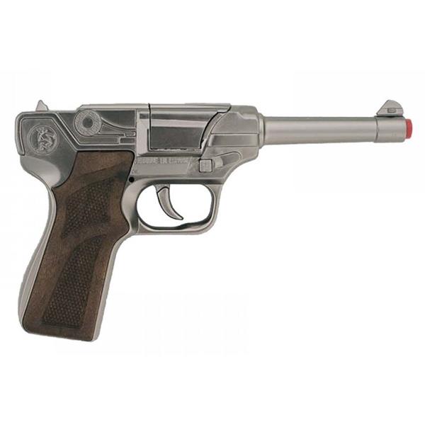Игрушечное оружие Gonher Полицейский пистолет, стальной