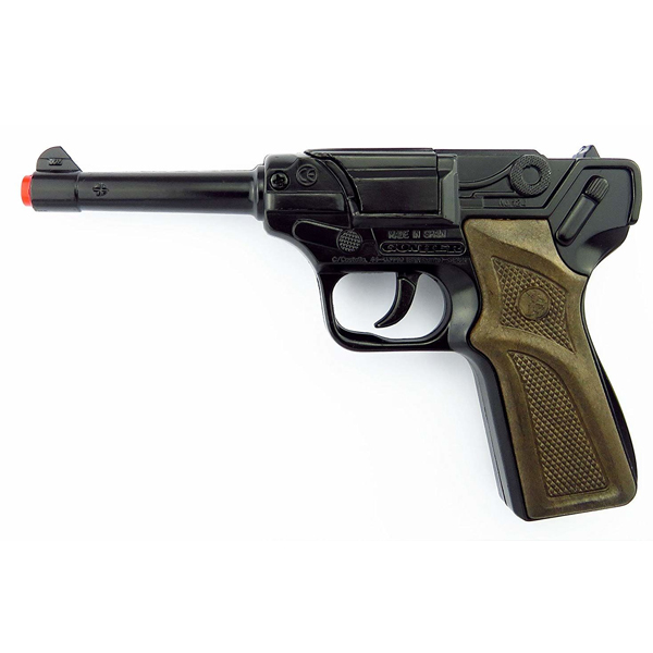 Игрушечное оружие Gonher Полицейский пистолет, черный