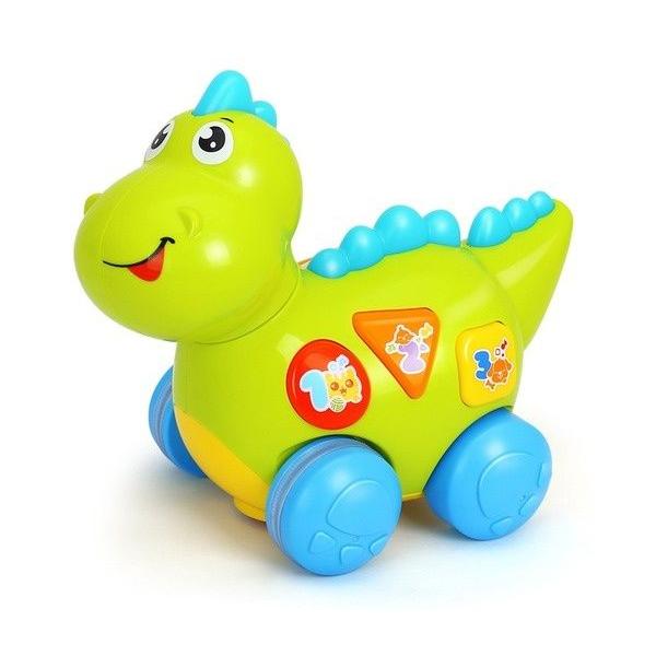 """Игровая активная игрушка Huile Toys """"Динозаврик"""", со светом и звуком"""