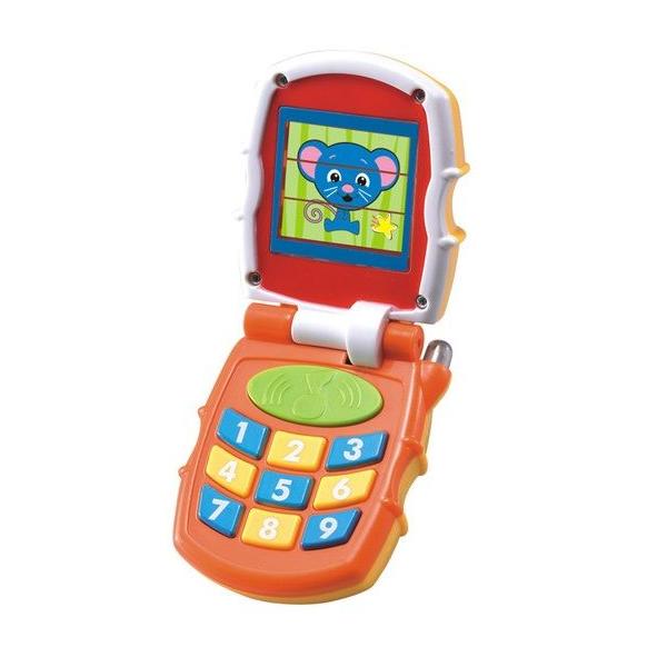 """Игровая активная игрушка Huile Toys """"Телефон"""", со светом и звуком"""