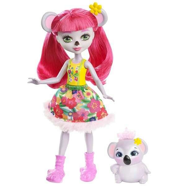 Кукла Mattel Enchantimals Карина Коала с питомцем (FCG64)