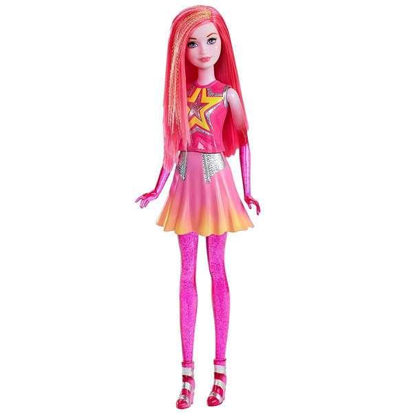 Кукла Mattel Барби Star Light Adventure Costar Doll Pink DLT28
