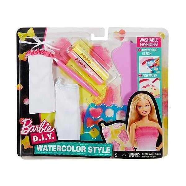 """Игровой набор Mattel Барби """"Акварельный стиль"""" DWK51"""