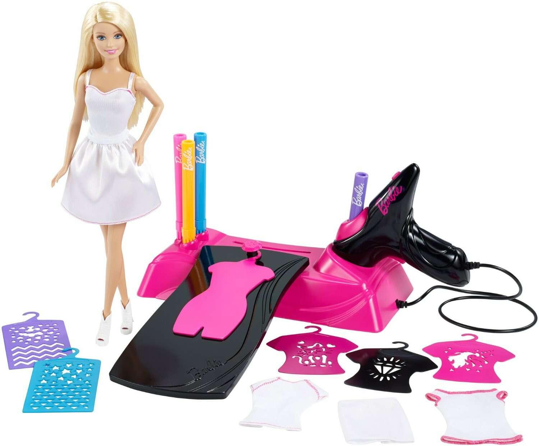 """Детская игрушка Barbie игровой набор """"Дизайнер-аэрограф"""" (CMM85)"""