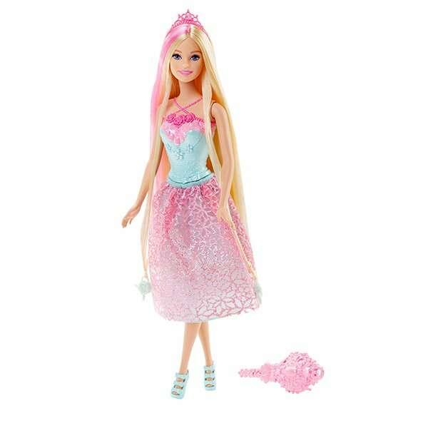 """Кукла Barbie DKB60 """"Принцесса с длинными волосами"""""""