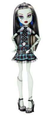 Кукла Monster High Базовые куклы Frankie Stein (CFC63)