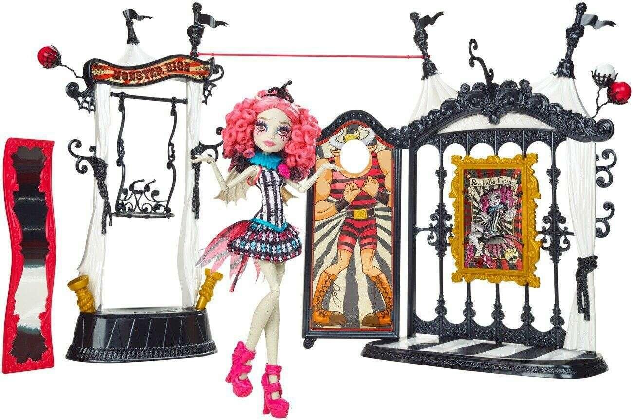 "Кукла Monster High Серия ""Шапито"" Кукла с аксессуарами (CHW68)"