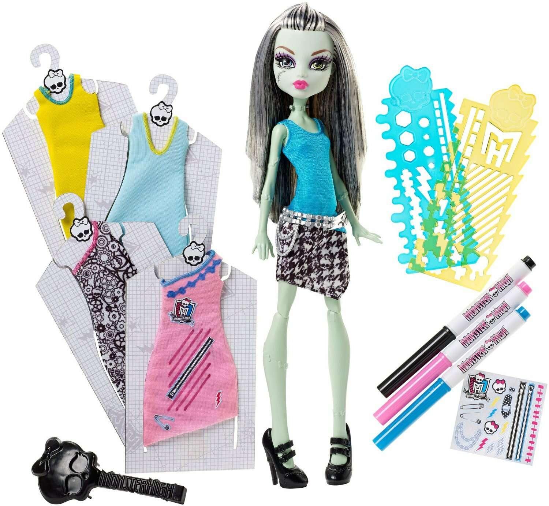 "Кукла Monster High DNM27 ""Модный Бутик Френки"""