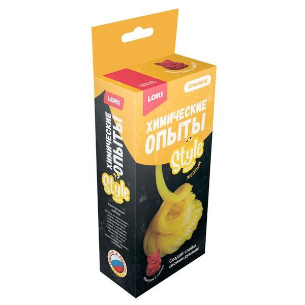 Химические опыты Колорит Монстрики style slime (Желтый)