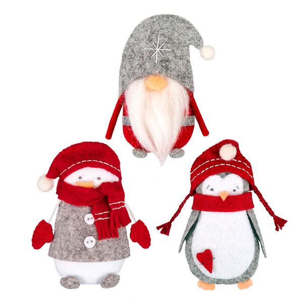 Набор для изготовления игрушки Гамма Miadolla Рождественские истории TF-0272