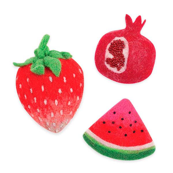 Набор для валяния Гамма Woolla Сочные ягоды (WB-0176)