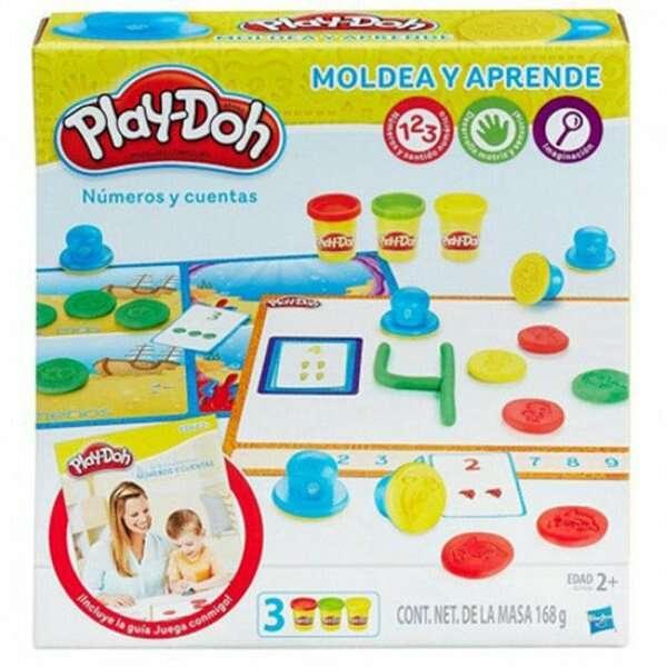 """Игровой набор Hasbro My Play-Doh """"Цифры и Числа"""" (B34061210)"""