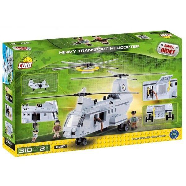 Конструктор Cobi Тяжелый транспортный вертолет