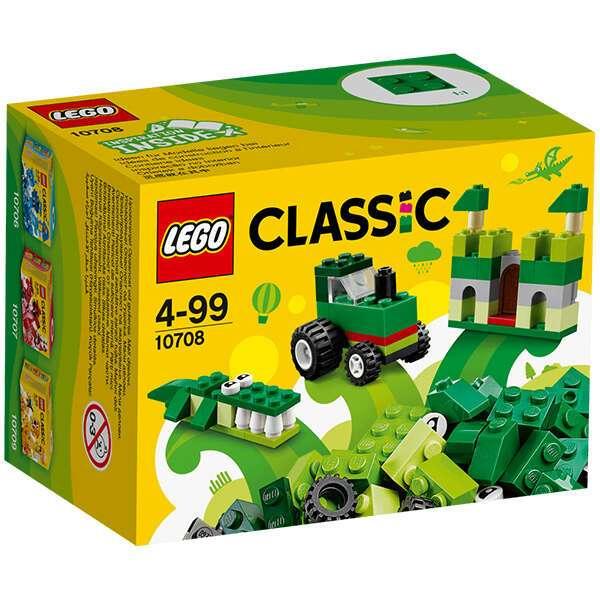 Конструктор Lego Классика Зелёный набор для творчества 10708