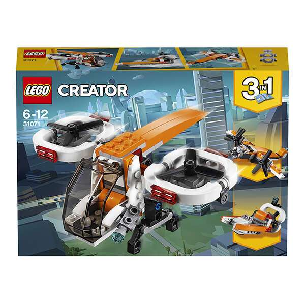 Конструктор Lego Криэйтор Дрон-разведчик 31071