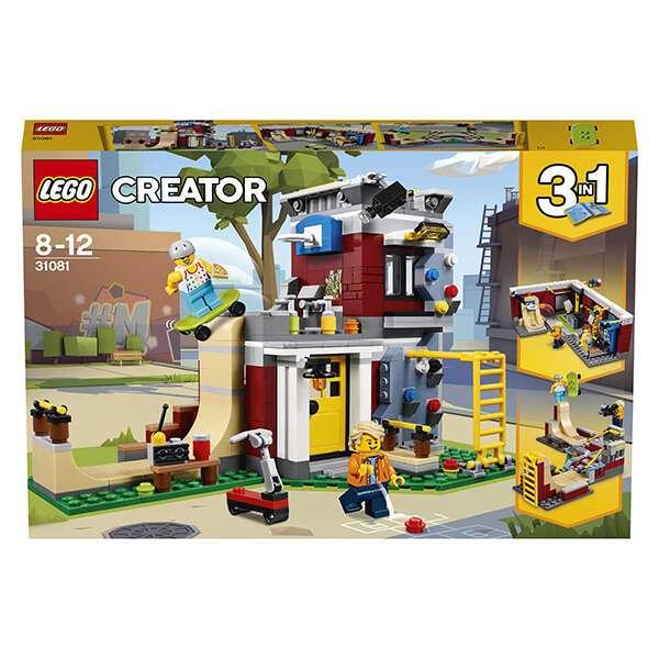 Конструктор Lego Creator Скейт-площадка (модульная сборка) 31081
