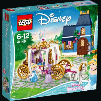 Конструктор Lego Disney Princess Сказочный вечер Золушки™ 41146