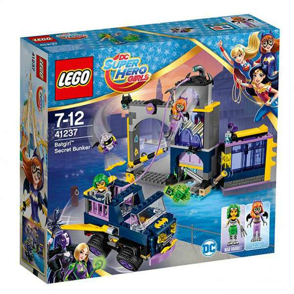 Конструктор Lego Super Hero Girls Секретный бункер Бэтгёрл 41237